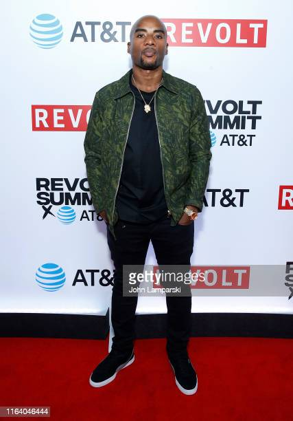 Charlamagne tha God attends Revolt Summit at Kings Theatre on July 24 2019 in Brooklyn New York