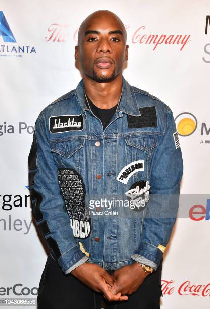 Charlamagne tha God attends RollingOut 2018 Ride Conference at Loudermilk Conference Center on September 29 2018 in Atlanta Georgia