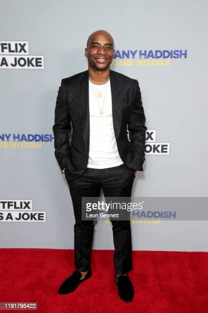 Charlamagne tha God attends Tiffany Haddish Black Mitzvah at SLS Hotel on December 03 2019 in Beverly Hills California
