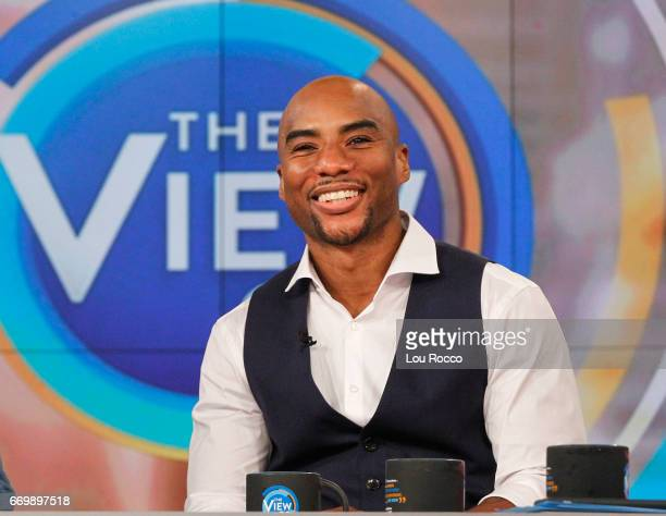 THE VIEW Charlamagne Tha God is the guest Tuesday April 18 2017 on Walt Disney Television via Getty Images's The View The View airs MondayFriday on...