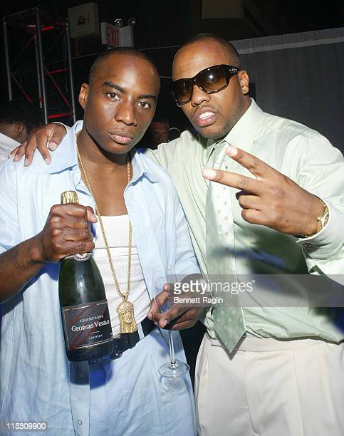 Charlemagne and Consequence during Wendy Williams' Hosts The 2006 Dons and Divas Ball at Hammerstein Ballroom in New York City New York United States