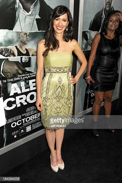 Charlene Amoia arrive for the Los Angeles Premiere of Alex Cross at ArcLight Cinemas Cinerama Dome on October 15 2012 in Hollywood California