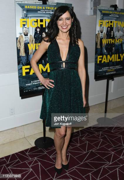 Charlene Amoia attends Fighting With My Family Los Angeles Tastemaker Screening at The London Hotel on February 20 2019 in West Hollywood California