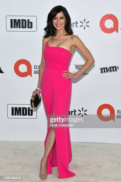 Charlene Amoia attends the 28th Annual Elton John AIDS Foundation Academy Awards Viewing Party Sponsored By IMDb And Neuro Drinks on February 09,...