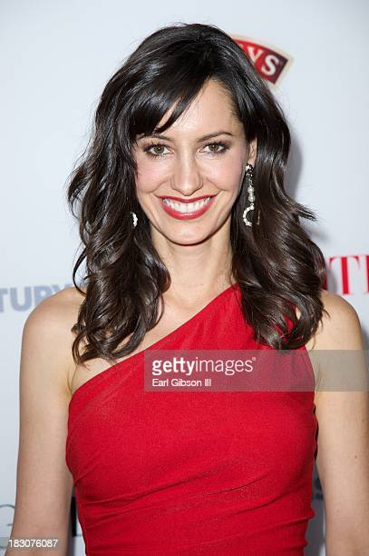 """Charlene Amoia attends the Latina Magazine """"Hollywood Hot List"""" Party at The Redbury Hotel on October 3, 2013 in Hollywood, California."""