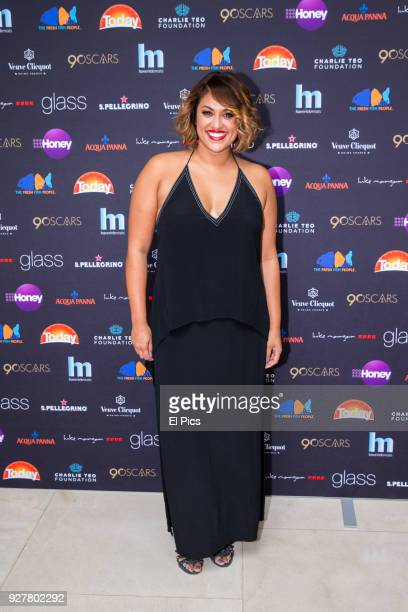 Charlene from Married at First Sight attends the Channel 9 Charity Oscars lunch raising money for the Charlie Teo Foundation at Glass Restaurant The...