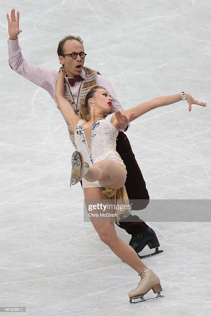 ISU World Figure Skating Championships 2014 - DAY 3