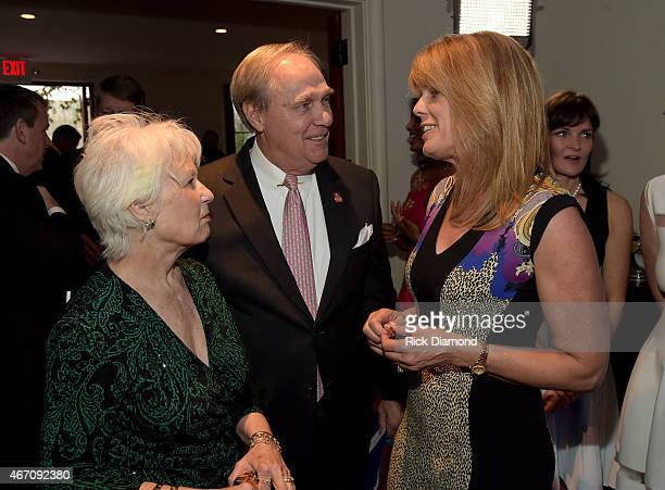 Charlene Hall Robert Hall of Rotary International and Patron Chair Laura Turner Seydel attend UNICEF'S First Annual Evening for Children First at...