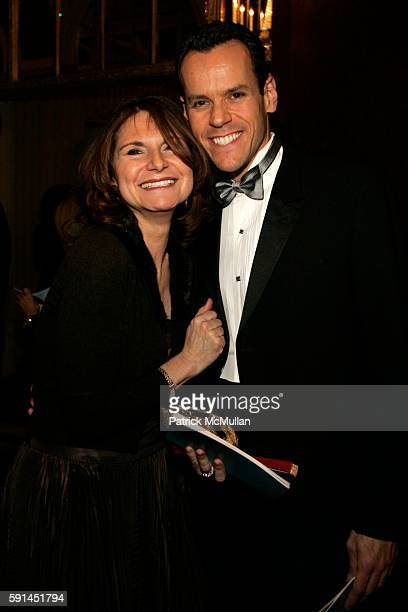 Charlene Holt and Bob DeBaker attend March of Dimes Million Dollar Beauty Ball at WaldorfAstoria on February 7 2005 in New York City