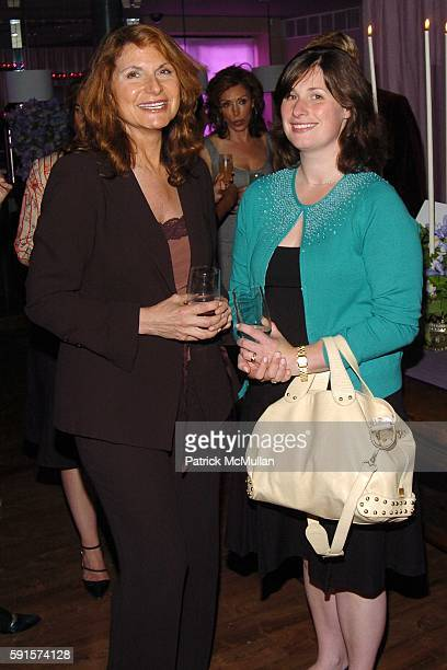 Charlene Holt and Samantha Critchell attend The Launch of Alexander McQueen's new Women's Fragrance MY QUEEN hosted by Maggie Ciafardini CEO and...