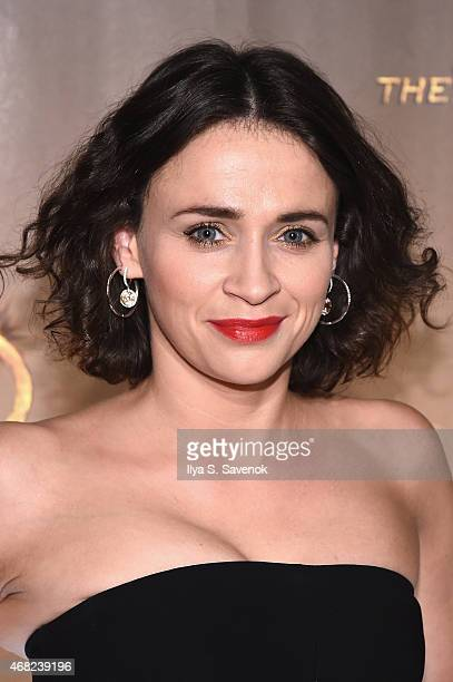 Charlene McKenna attends the 'AD The Bible Continues' New York Premiere Reception at The Highline Hotel on March 31 2015 in New York City