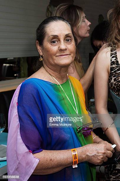 Charlene Peters aka Isis Aquarian attends the Women of Cinefamily weekend closing party at The Standard Hollywood on August 21 2016 in West Hollywood...