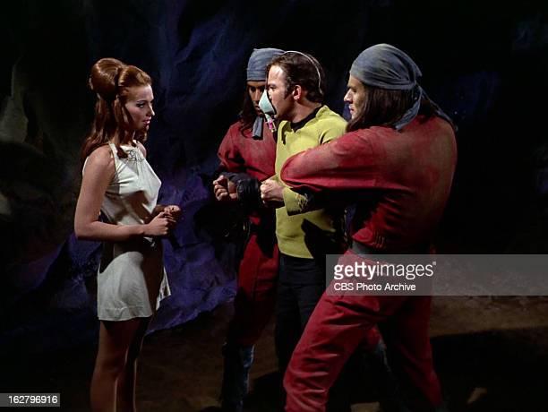 Charlene Polite as Vanna and William Shatner as Captain James T Kirk in the STAR TREK THE ORIGINAL SERIES episode The Cloud Minders Season 3 episode...