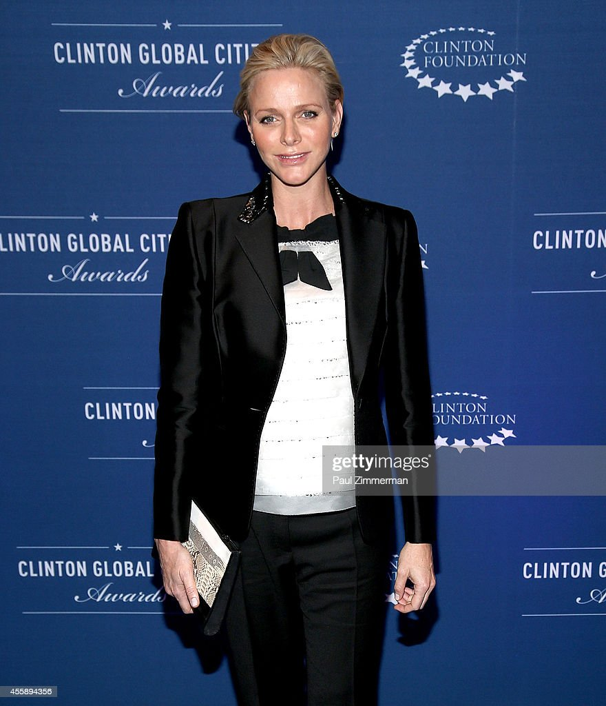 Charlene, Princess of Monaco attends the 8th Annual Clinton Global Citizen Awards And CGCA Blue Carpet at Sheraton New York Times Square on September 21, 2014 in New York City.