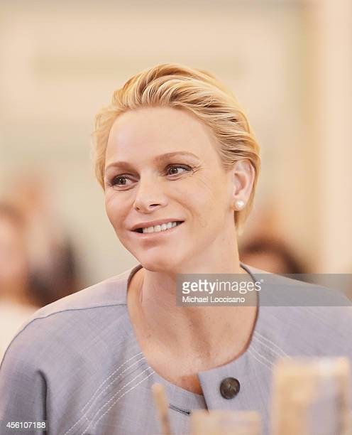 Charlene Princess of Monaco attends the Seventh Annual World Focus on Autism hosted by Autism Speaks at The New York Hilton Midtown on September 25...