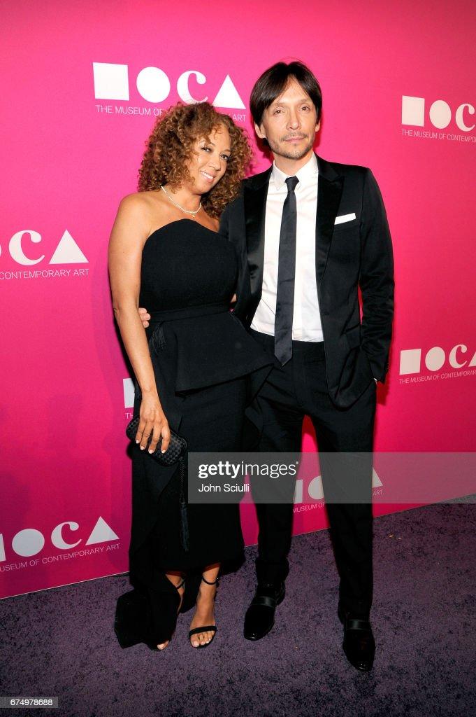 MOCA Gala 2017 Honoring Jeff Koons : Nachrichtenfoto