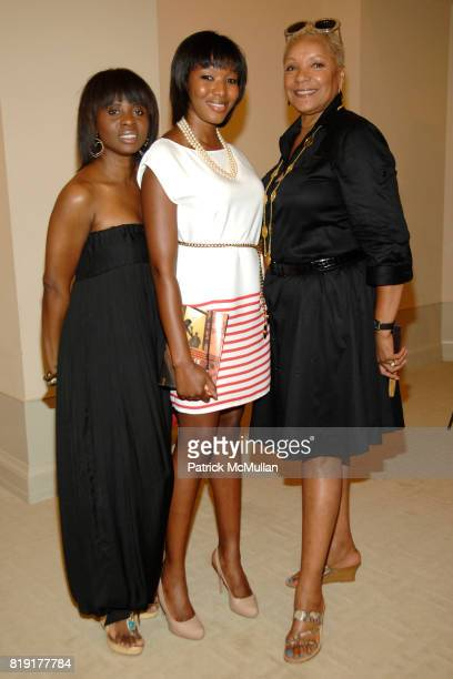 Charlene Stiller Lindsay Wilkinson and Audrey Smaltz attend Susan FalesHill's ONE FLIGHT UP Book Launch Party at 15 Central Park West on July 21st...