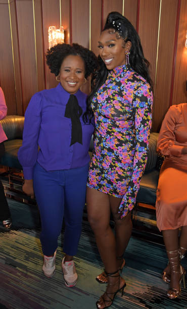 GBR: Irene Agbontaen's Summer Party At The Standard London