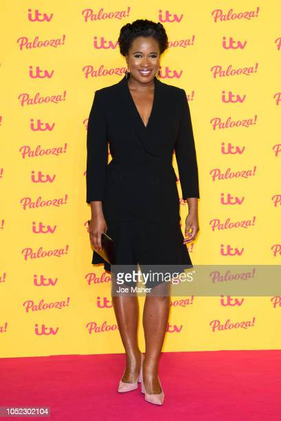 Charlene White attends the ITV Palooza held at The Royal Festival Hall on October 16 2018 in London England
