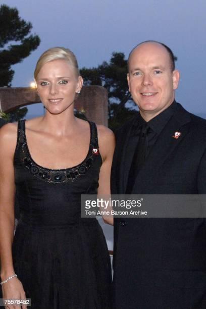 Charlene Wittstock and HSH Prince Albert II