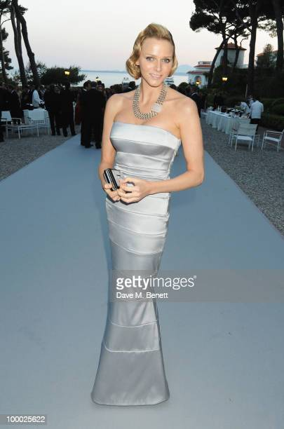 Charlene Wittstock arrives at amfAR's Cinema Against AIDS 2010 benefit gala at the Hotel du Cap on May 20, 2010 in Antibes, France.