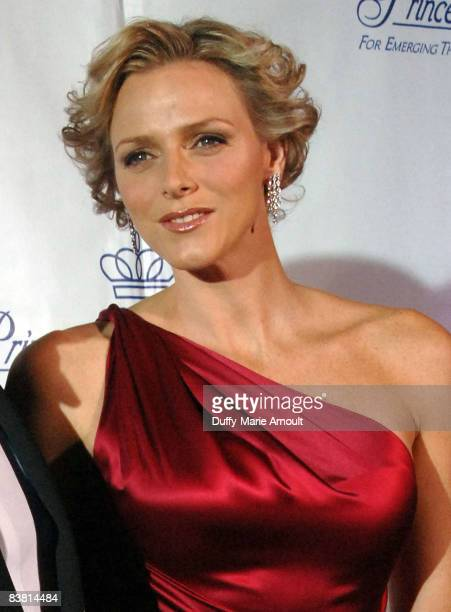 Charlene Wittstock attends the 2008 Princess Grace awards gala at Cipriani 42nd Street on October 15 2008 in New York City