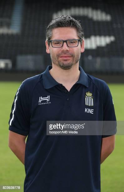 20170715 Charleroi Belgium / Photoshoot Sporting Charleroi 2017 2018 / 'nFrederic VANBELLE'nPicture Vincent Van Doornick / Isosport