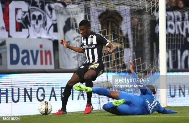 20170505 Charleroi Belgium / Sporting Charleroi v Club Brugge Clinton MATA Jose IZQUIERDO Jupiler Pro League PlayOff 1 Matchday 7 at the Pays de...