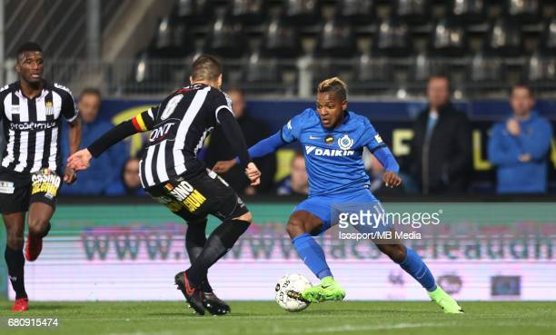 20170505 Charleroi Belgium / Sporting Charleroi v Club Brugge Javier MARTOS Jose IZQUIERDO / Jupiler Pro League PlayOff 1 Matchday 7 at the Pays de...