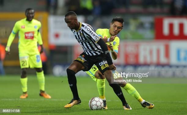 20171027 Charleroi Belgium / Sporting Charleroi v Kaa Gent / 'nDodi LUKEBAKIO Yuya KUBO'nFootball Jupiler Pro League 2017 2018 Matchday 13 /...
