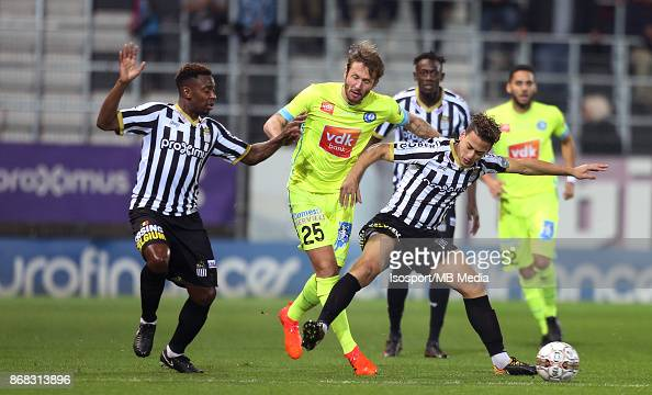 Sporting charleroi v kaa gent pictures getty images - Belgium jupiler pro league table ...
