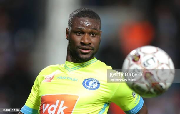 20171027 Charleroi Belgium / Sporting Charleroi v Kaa Gent / 'nMamadou SYLLA'nFootball Jupiler Pro League 2017 2018 Matchday 13 / 'nPicture by...