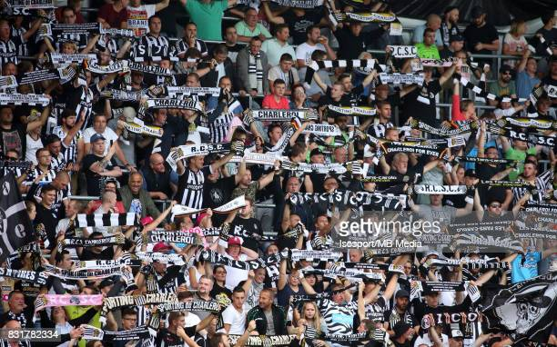 20170813 Charleroi Belgium / Sporting Charleroi v Rsc Anderlecht / 'nSupporters'nFootball Jupiler Pro League 2017 2018 Matchday 3 / 'nPicture by...