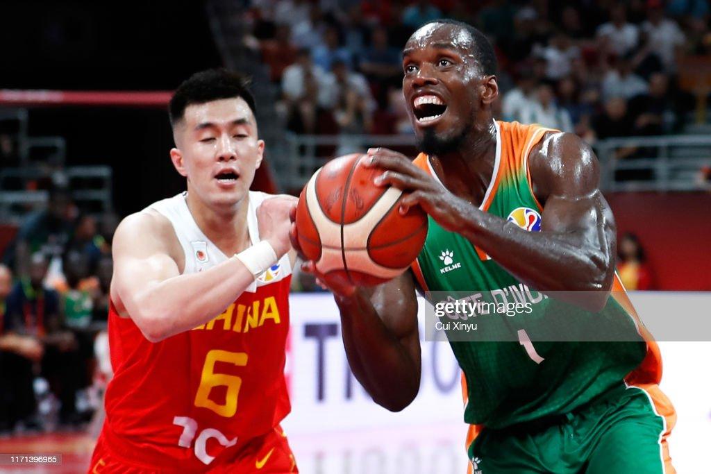 Cote d'lvoire v China: Group A - FIBA World Cup 2019 : News Photo