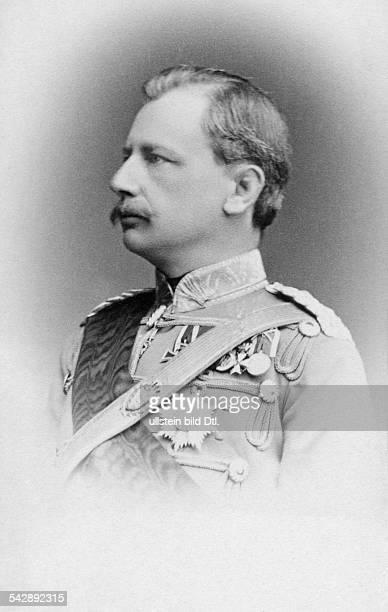 Charles Alexander Grand Duke of SaxeWeimarEisenach *24061818 portrait in uniform date unknown probably around 1860 photo by Friedrich Hertel