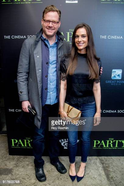 Charles and Ariana Rockefeller attend the screening of 'The Party' hosted by Roadside Attractions and Great Point Media with The Cinema Society at...