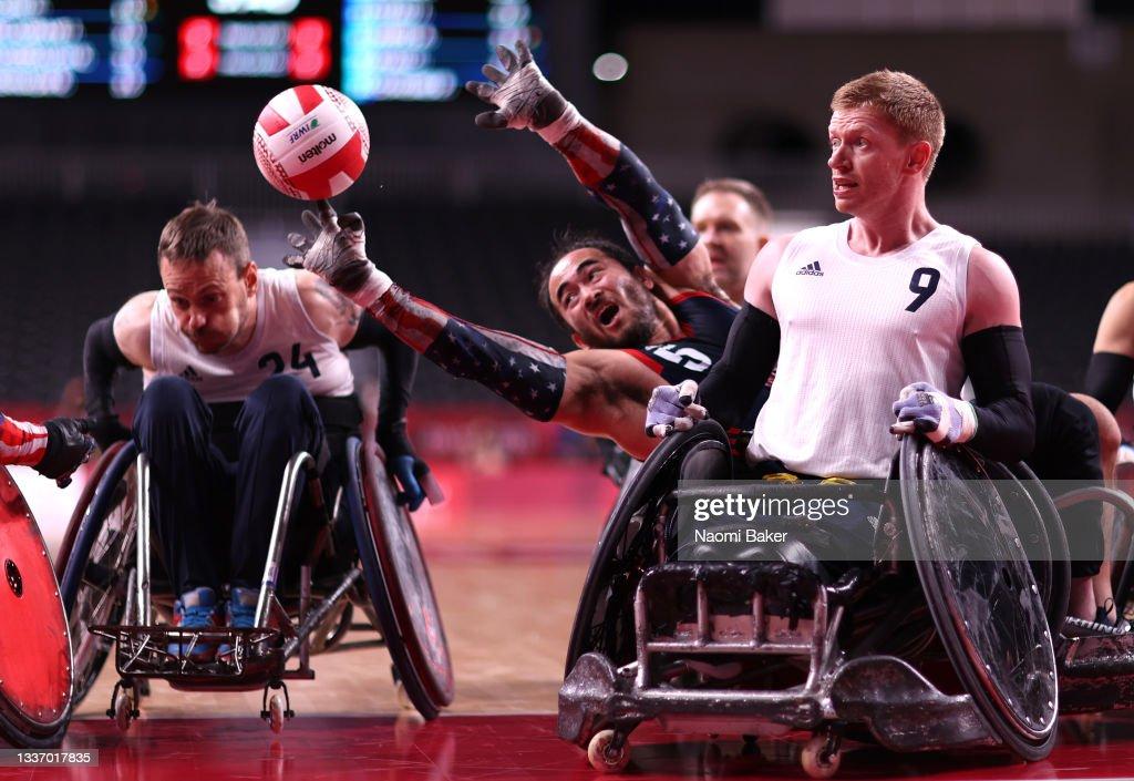 2020 Tokyo Paralympics - Day 5 : News Photo