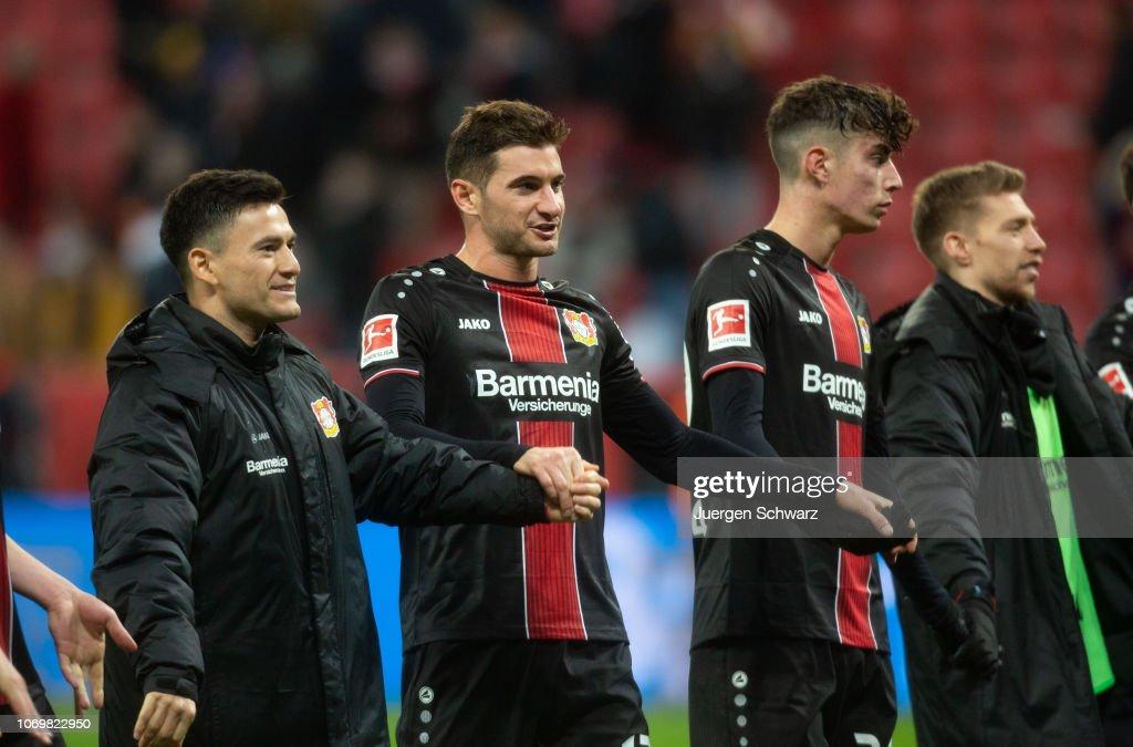 Bayer 04 Leverkusen v FC Augsburg - Bundesliga : News Photo