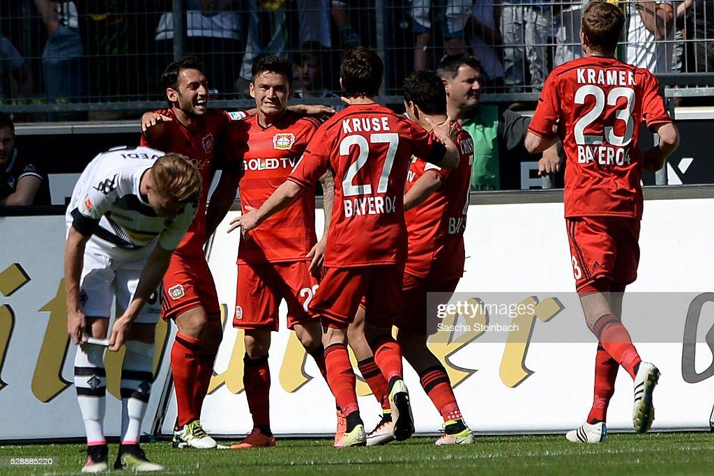 Borussia Moenchengladbach v Bayer Leverkusen - Bundesliga