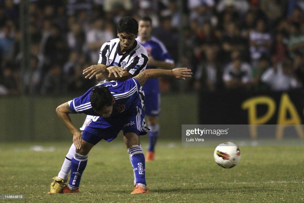 Libertad v U. de Chile - Copa Libertadores
