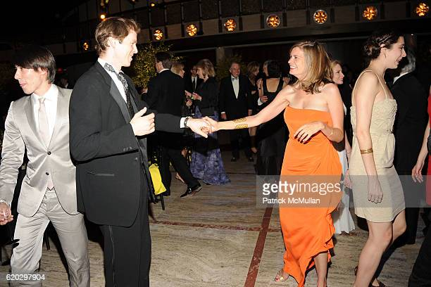 Charles Askegard and Alexandra Kimball attend NEW YORK CITY BALLET Spring Gala 2008 Dinner Dancing at New York State Theater on April 29 2008 in New...