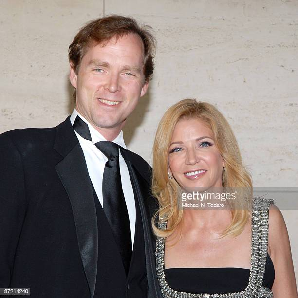 Charles Askegard and Candace Bushnell attend the 2009 New York City Ballet Spring Gala at David H Koch Theater Lincoln Center on May 13 2009 in New...