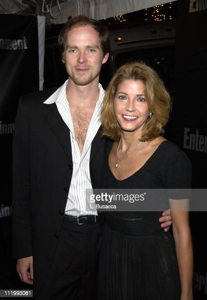 Charles Askegard and Candace Bushnell during Entertainment Weekly 9th Annual Academy Awards Viewing Party at Elaine's in New York City New York...