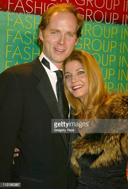 Charles Askegard and Candace Bushnell during Fashion Group International Presents The 19th Annual Night Of The Stars Honoring The Provocateurs Those...