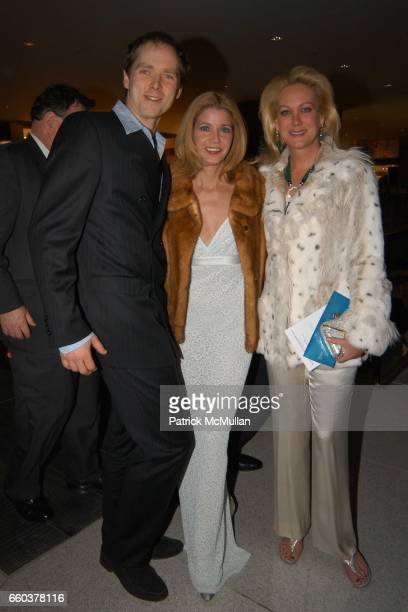 Charles Askegard Candace Bushnell Nina Griscom attend Grand Opening Celebration of the Time Warner Center at Time Warner Center on February 4 2004 in...