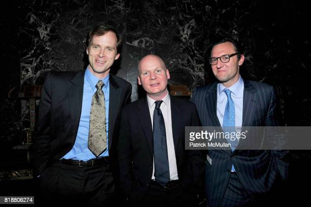 Charles Askegard Tom Gardner and John Lambros attend PARIS REVIEW BOARD OF DIRECTORS REVEL 2010 at Cipriani on April 13 2010 in New York City