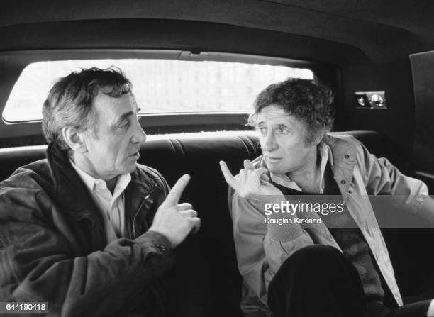 Charles Aznavour and Marcel Marceau