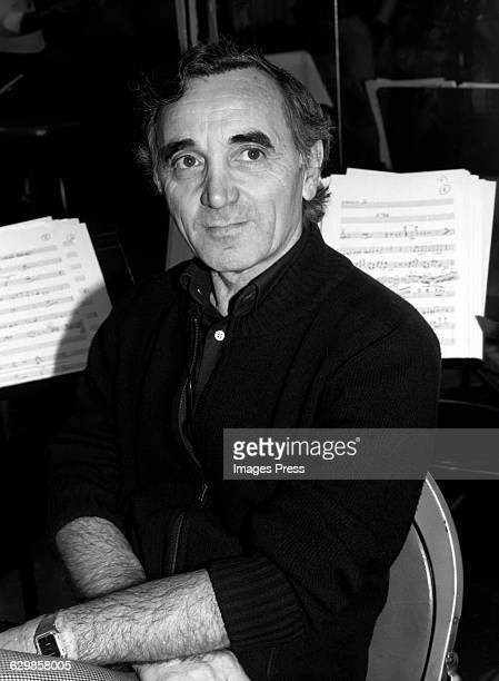 Charles Aznavour circa 1983 in New York City