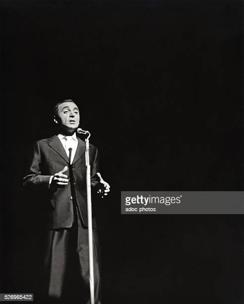 Charles Aznavour FrenchArmenian author composer and performer born in Paris Ca 1960