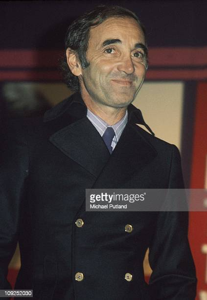 Charles Aznavour London 1974